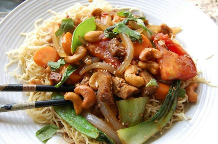 Summer Stir Fry | Cooking Light/Healthy Living | Pinterest