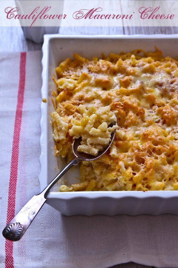 cauliflower macaroni and cheese | Vegetarian Recipes | Pinterest