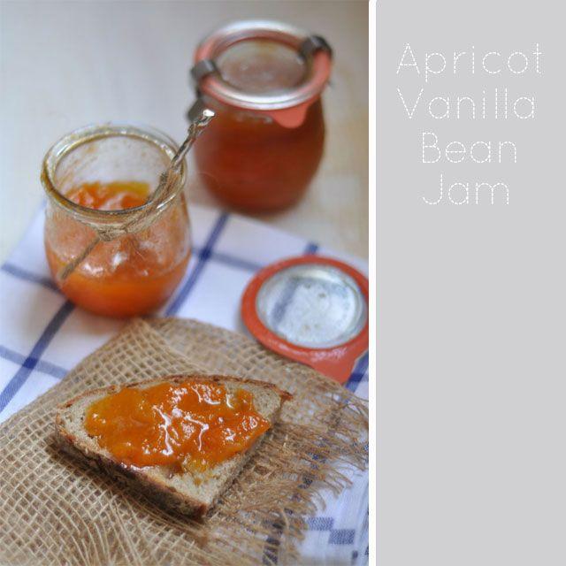 Apricot and Vanilla Bean Jam || Turntable Kitchen