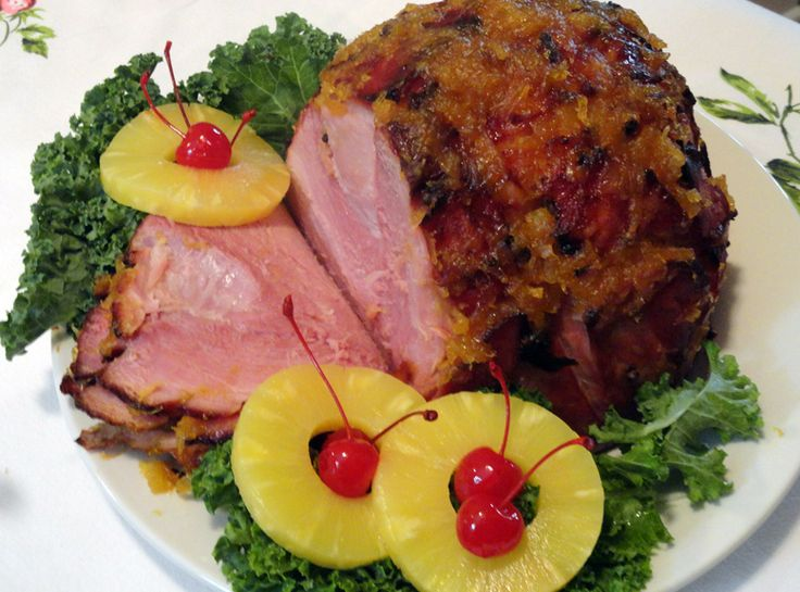Glazed Ham-Good taste and good looks? The perfect combination! This is ...