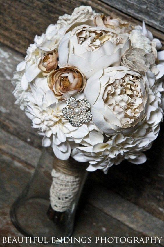 handmade bridal bouquet