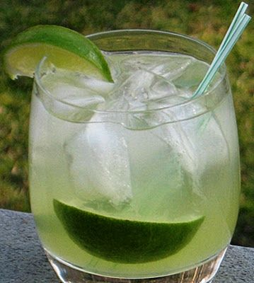 Caipirinha , lime muddled with sweet & sour mix, simple syrup, and ...