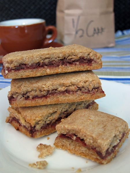 Easy Date (or Fig) Bars   Recipes   Pinterest