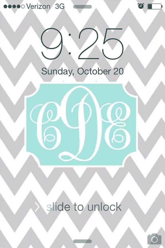 chevron monogram iphone 5 wallpaper - photo #26
