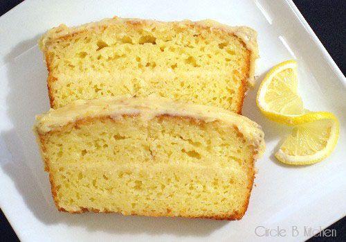 Limoncello Pound Cake With Mascarpone Lemon Frosting