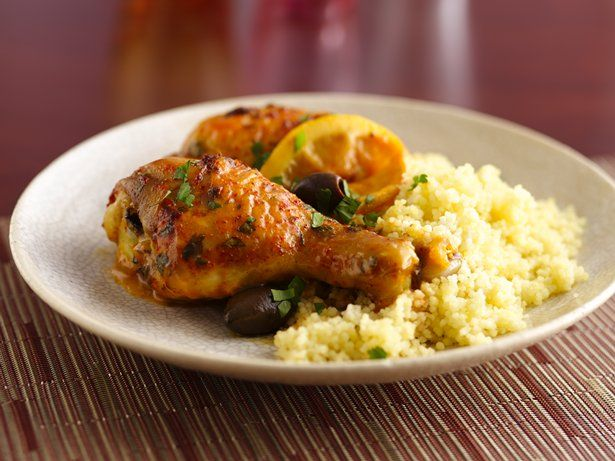 Moroccan Chicken with Olives   Recipe