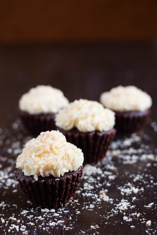 Mocha Coconut Cupcakes | Cupcake special | Pinterest