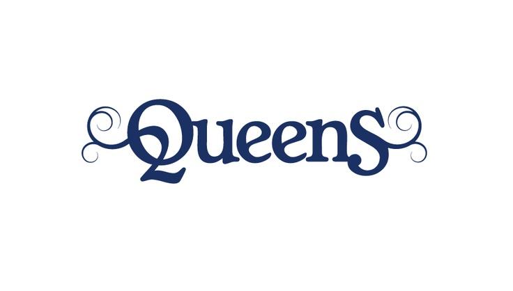 typographic logo design queens typographic logo design