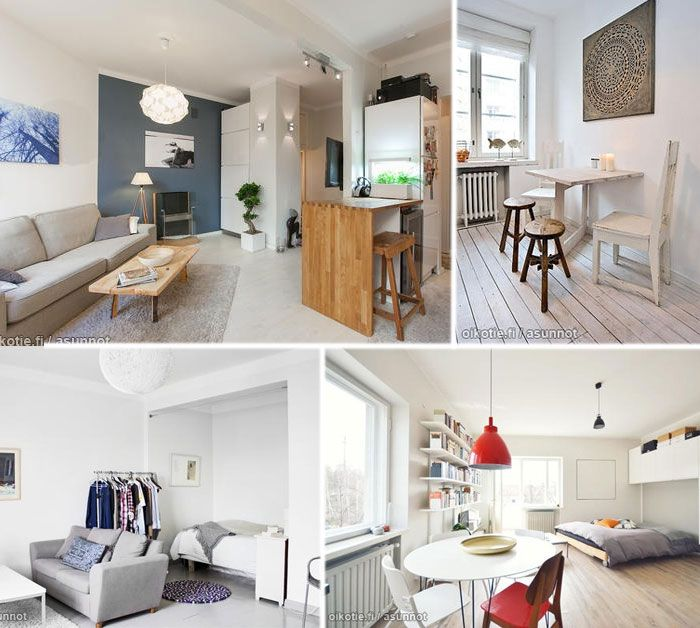 Ideas For Small Apartment Small Living Pinterest