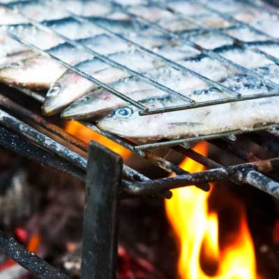 Emeril's Sardines Portuguese-Style: Grill sardines with olive oil ...