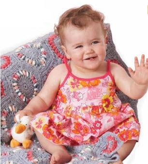 Bernat Baby Blankets to Crochet (542034) pattern booklet
