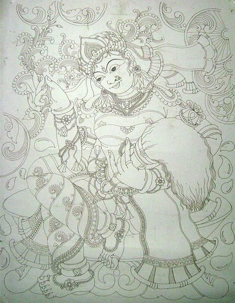Pin by asha rani on kerala mural art pinterest for Mural art designs