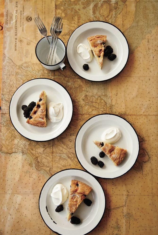 foodandwinephotos: © Cedric Angeles Buttermilk Cake with Blackberries ...