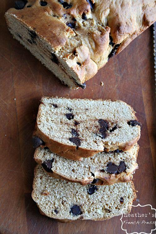 Chocolate Chip Peanut Butter Bread | Bread, Buns & Rolls ... | Pinter ...