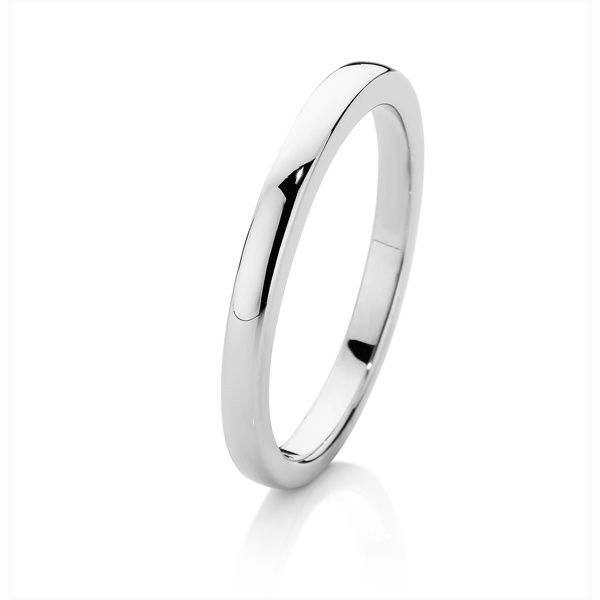 Platinum Wedding Ring Alis Volat Propiis She Flys With Her Own Wi