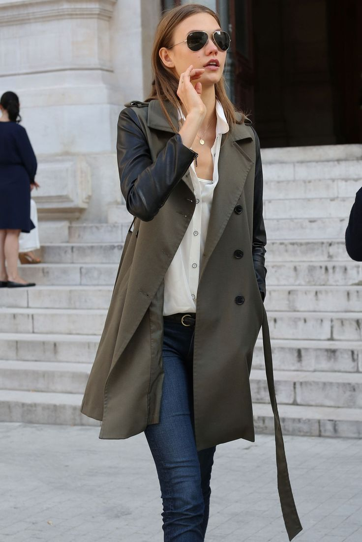 12 Fresh Ways to Wear a Trench Coat Inspired by Models Street Style | The Front Row View