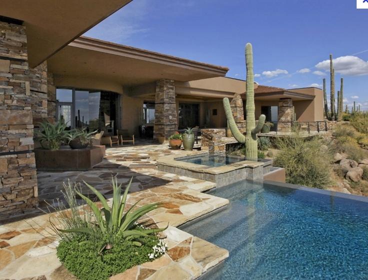 Modern Desert Home This Old House Pinterest