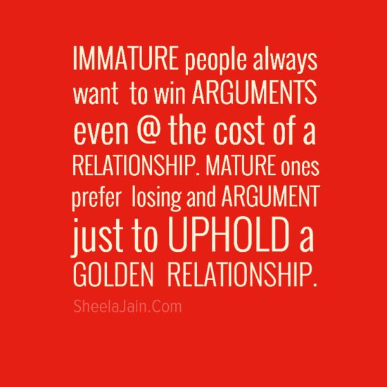arguments quotes relationship problems