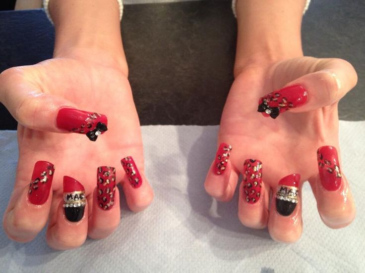 Nail art work | Unique nails | Pinterest
