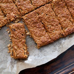 Peanut Butter and Honey Granola Bars — Punchfork. Granola bars are ...