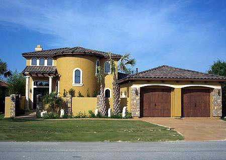 Two story mediterranean home plan for Two story mediterranean house plans