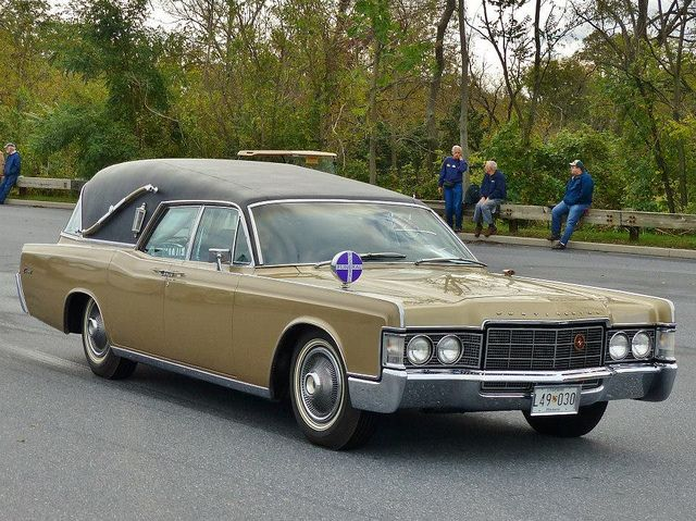 1969 Lincoln Hearse Swing Low Sweet Chariot Comin For