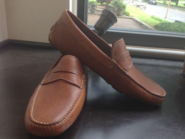 Donal Pliner shoes, J. Michaels Clothiers, Nashville. Men: What to
