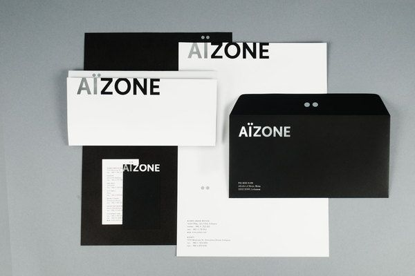 Aizone Identity by Sagmeister & Walsh Behance