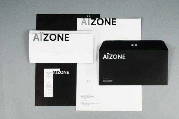 Aizone Identity by Sagmeister & Walsh Behance