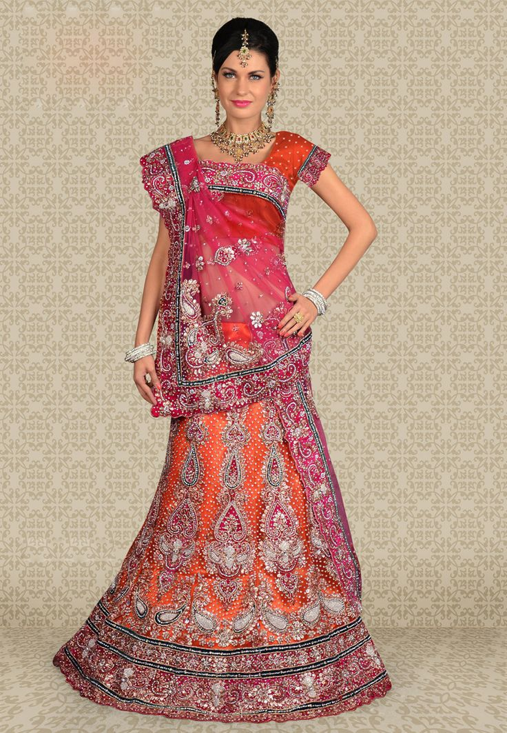 Designer Wedding Lenghas for Indian Girls 3