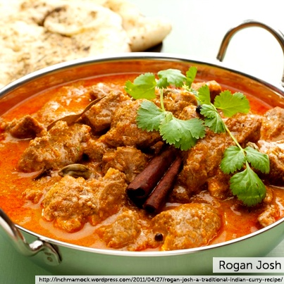 Rogan josh is a red lamb stew that hails from Kashmir, India, and is ...