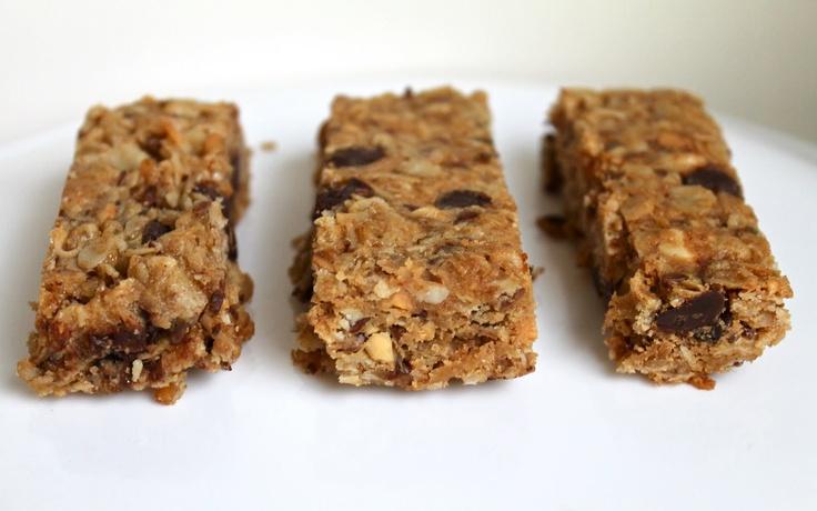 Peanut Butter-Granola Bars   Recipe