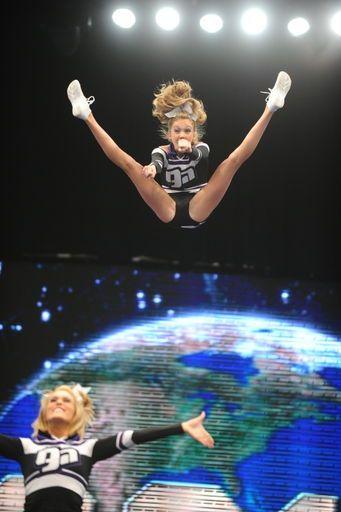 all star cheerleading basket toss
