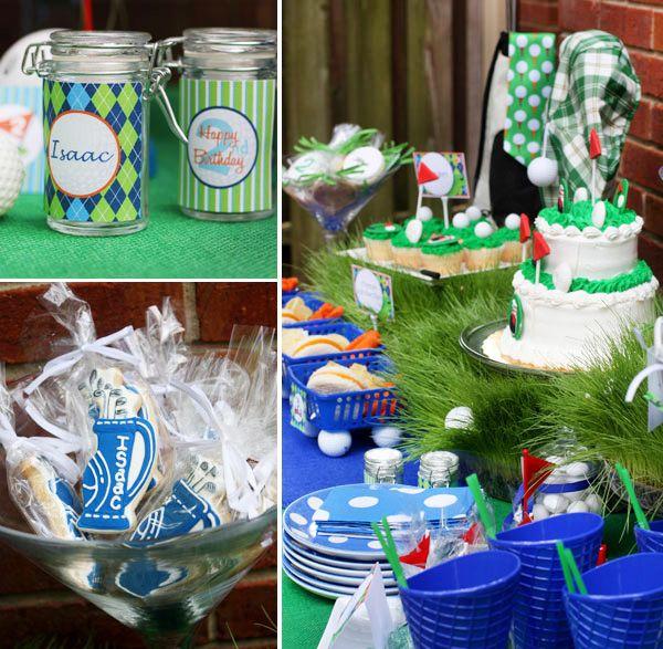 Golf Party #golf #party #birthday