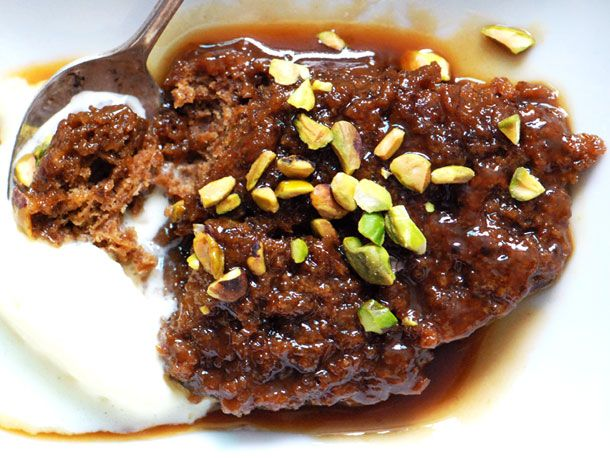 Sticky Toffee Pudding with Port Toffee Sauce- If I made this my ...