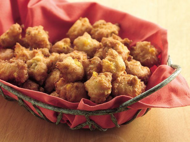 Spicy Corn Fritters | Recipe