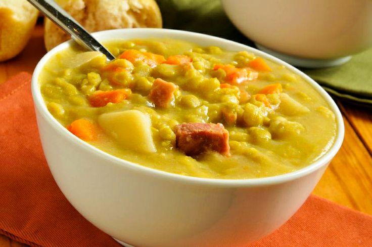 Split Pea & Ham Soup | Food & Drink - Soups & Stews | Pinterest