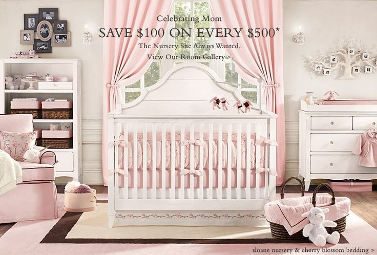 Ideias para quarto de bebê menina Blog Como Le Gusta ~ Quarto Rosa Choque
