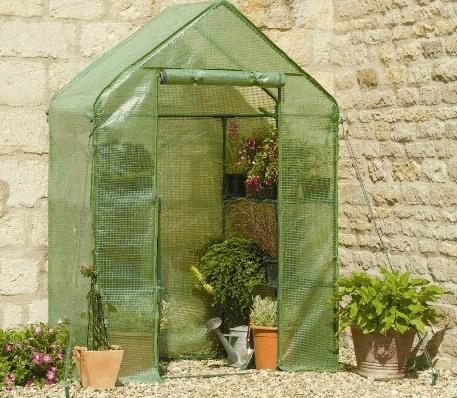 Small Greenhouse Garden Pinterest