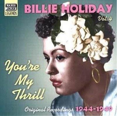Billie Holiday & Her Gardenia Flower