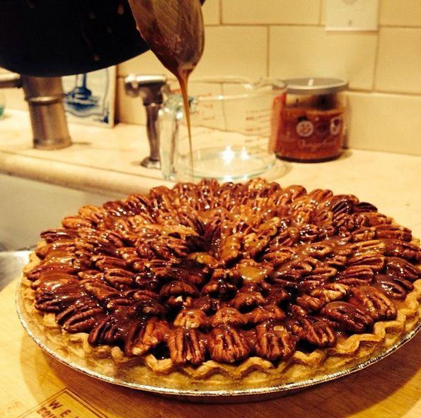 Salted-Carmel Chocolate Pecan Pie | FOOD | Pinterest