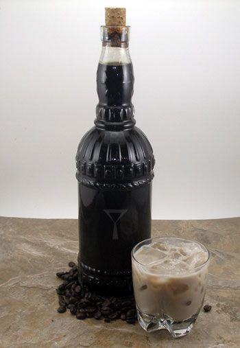 Homemade Coffee Liqueur Recipe   Cocktails   Pinterest