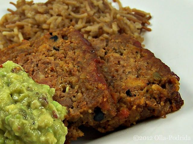 Taco Meatloaf | Delicious dinners | Pinterest