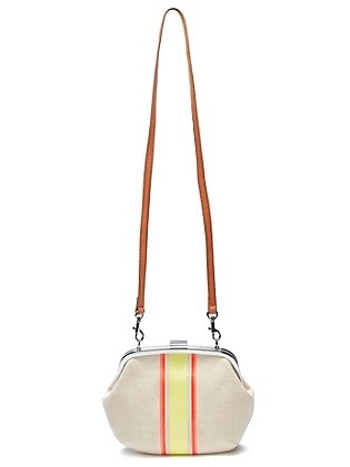 ... Canvas Round Clutch: Surf Shack collection via Tommy Hilfiger USA