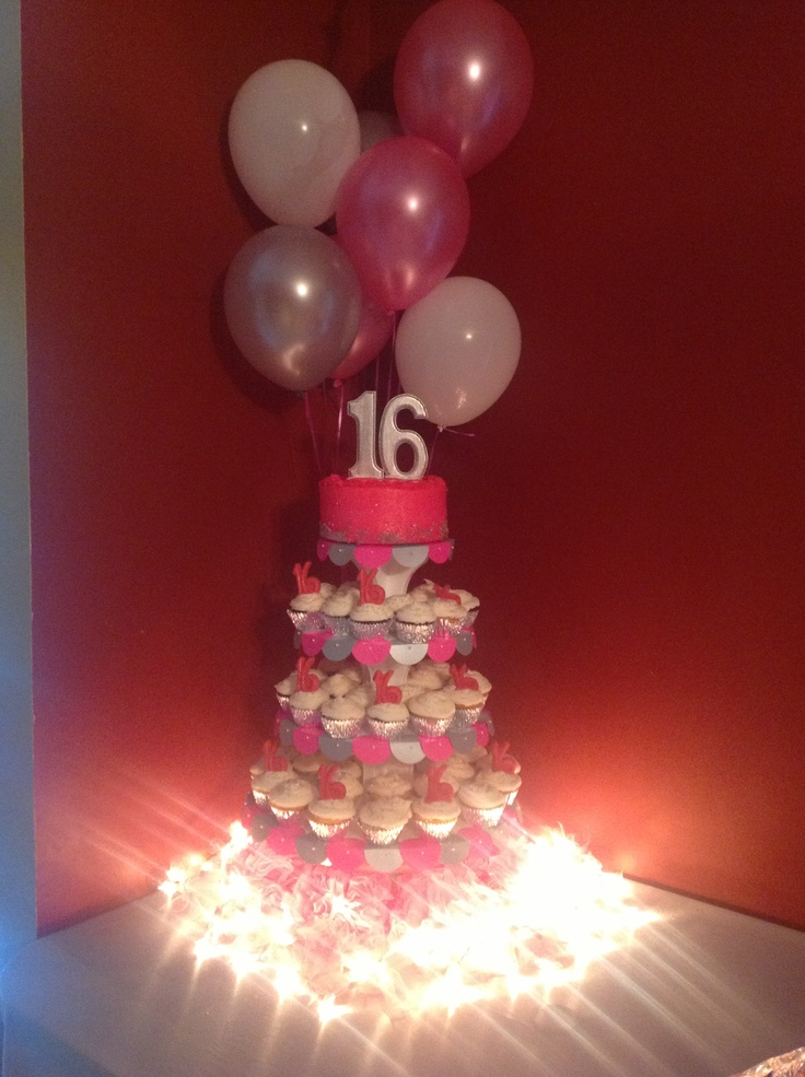Cake Ideas For A 16th Birthday Party : 16th birthday party Party fever   Pinterest