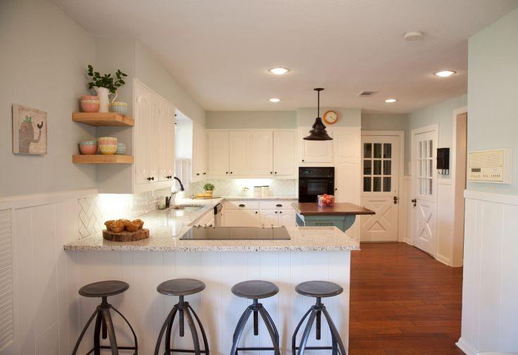As Seen On HGTVs Fixer Upper Kitchen Remodel Ideas
