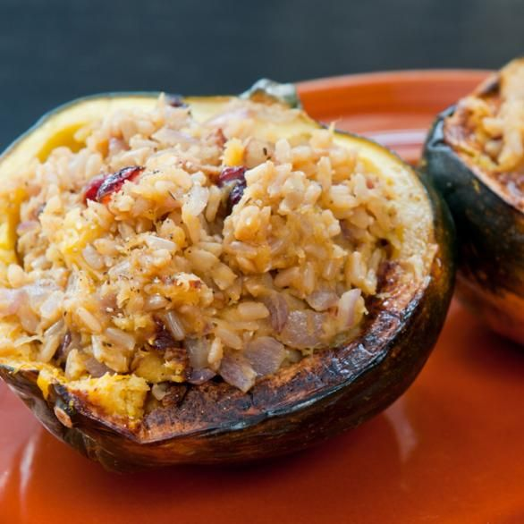 Stuffed Acorn Squash Recipe for Fall - Shape Magazine