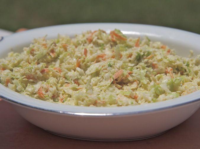 creamy coleslaw recipe easy homemade | Food Recipes | Pinterest