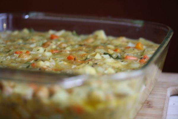 Chickpea Vegetarian Pot Pie | Vegetarian Cooking | Pinterest