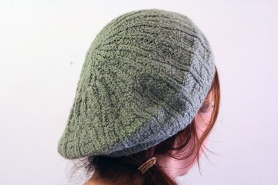 Beret Knitting Pattern Straight Needles : BERET KNITTING PATTERN WITH STRAIGHT NEEDLES   KNITTING PATTERN